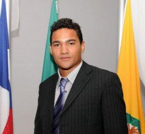 Presidente da Câmara de Vereadores de Itapebi, Leonardo Ribeiro dos Santos